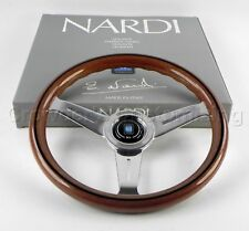 Nardi Steering Wheel Classic Wood with Polished Spokes 330 mm 5061.33.3000