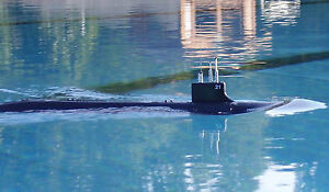 RTR RC Sub 1:144 USS SSN21 Seawolf Submarine Model Kit + WTC + Radio + Painting
