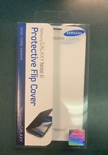 Original NEW Samsung Galaxy Note II Phone Case Flip Cover White (EFC-1J9FWEGSTA)