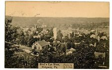 Ridgway PA - BIRDSEYE VIEW OF CITY - Postcard