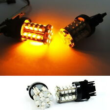 A Pair of Amber 40 SMD LED 3157 3156 3457 for DODGE Front Turn Signal Light Bulb