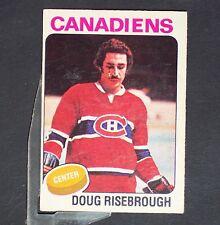 DOUG RISEBROUGH  1975/76 Opeechee #107  Montreal Canadiens  UER
