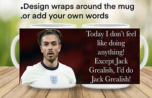Jack Grealish Mug,football Gift, Jack Grealish England Kit, Grealish Picture