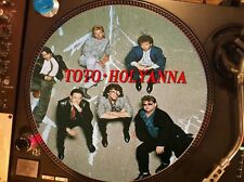 "TOTO ‎- Holyanna (Isolation) Mega Rare 12"" Picture Disc Promo Single LP"