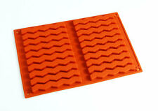 ZIGZAG Chocolate Candy Silicone Bakeware Mould Cookies Cake Sweets Biscuits Pan