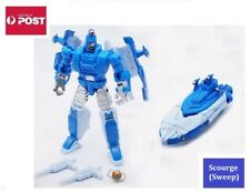 Transformers Decepticon G1 Style Robot Toy - Scourge / Sweep