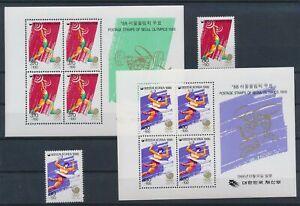 LN22881 Korea 1985 sports olympics fine lot MNH