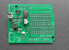 Arduino Lt3652 lithium battery charger and Tps63060 buck-boost converter shield