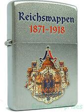 Zippo Reichswappen 1871-1918 Deutschland auf Wunsch mit pers. Gravur 2001814 Neu