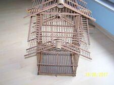Vogelkäfig aus Holz Handarbeit