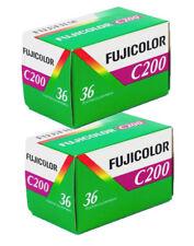 2 Rolls - Fuji Fujifilm C200 135-36 35mm 36exp film