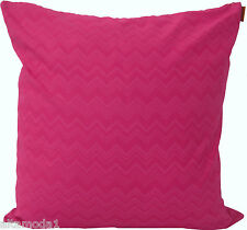 MISSONI HOME CUSHION COVER LIMITED EDITION ZIGZAG 100% PERCALE COTTON GINNY T57