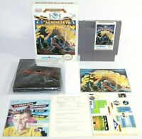 Magic of Scheherazade NES Complete CIB Authentic NICE Shape w/ Poster & Reg Card