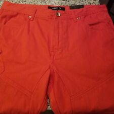 NWT Men Akoo Roller Short 36W Poppy Red Standard Fit