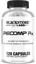 Blackstone Labs Recomp RX (120 Capsules) All Natural Fat For Muscle Supplement!