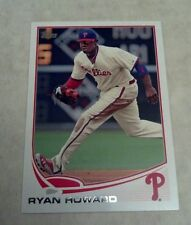 RYAN HOWARD 2013 TOPPS CARD # 6 A0861