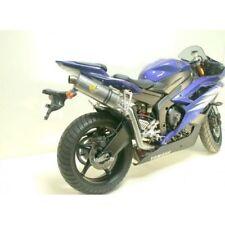 Leovince Schalldämpfer Auspuff SBK Titan hochgelegt Yamaha YZF-R6 600