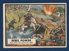 REBEL POWER  1962 CIVIL WAR NEWS NO 4 VGEX