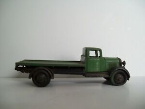 Dinky - Toys 25 Series Truck type 4 flat back green 1948 deleted 1950