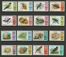 Br.Solomon Islands 1976 Complete set SG 305-320 Mnh.
