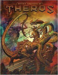 RPG - Dungeons and Dragons - Mythic Odysseys of Theros Alternate Cover NEW!