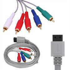 High Definition AV Audio Video Adapter HDTV Component Cable Wire for Wii / Wii U