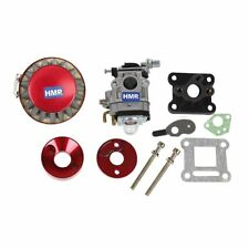 Hmparts Pocket Bike Mini Croix Tuning Carburateur - Kit 47 Ccm / 49 15 Mm Rouge