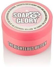 Soap & Glory The Righteous Butter Mini/50ml/Moisturiser/Travel/Holiday/Cream/NEW