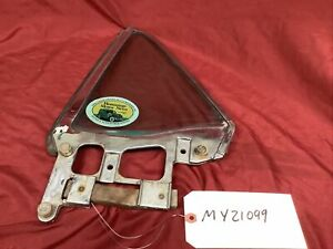 1964-1966 FORD MUSTANG DRIVER'S REAR QUARTER WINDOW FRAME & GLASS