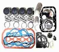 For ISUZU 4BD2 4BD2T Overhaul Rebuild Kit Engine Chevrolet W3500 Forward 92-98