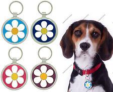 PET TAGS CUSTOM ENGRAVED PERSONALISED DOG TAG PET ID DAISY CHARM PET TAG