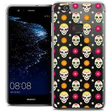 "Coque Crystal Gel Pour Huawei P10 LITE (5.2"") Souple Halloween Skull Halloween"