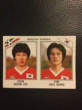 PANINI-Mexique 86 coupe du monde 98 Choi Soon Ho Kim Joo sungsouth Corée