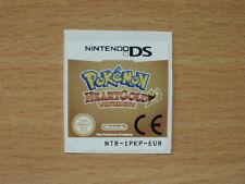 Nintendo DS Pokemon HeartGold Replacement Label Decal Sticker Nintendo Cartridge