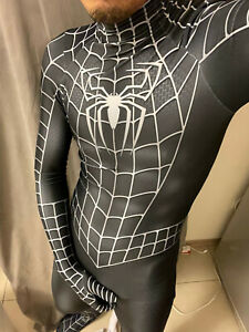 Raimi Spiderman Jumpsuit Venom Spider-man Cosplay Costume Adult Kids Halloween