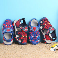 26-36 Kids Boys Beach Band Sports Sandals Shoes Cartoon Outdoor Protected Toe