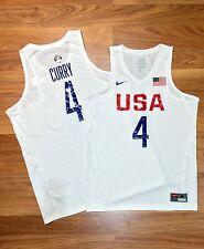 NEW 2016 NIKE USA BASKETBALL STEPH CURRY GAME JERSEY OLYMPIC FIBA NBA WARRIORS S