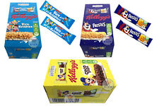 FULL BOX OF KELLOGG'S RICE KRISPIES / FROSTIES CEREAL SNACK COCO POPS CEREAL BAR