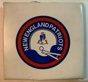 Vintage 1970's New England Patriots Schaefer Stadium Seat Cushion NFL