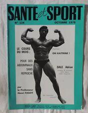 Santé et sport n°124 - Bodybuilding - Musculation - Photo ARAX 1975