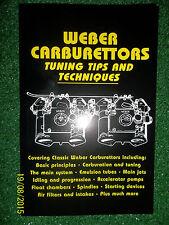 WEBER Carburettors Tuning Tune MANUAL DCD ADS DCZ IDF DCS DCOE IDA DFAV DCL DIC+