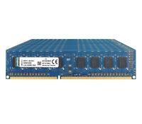 Lot For Kingston 8GB/4GB/2GB 1Rx8 PC3-10600U DIMM DDR3 1333Mhz Desktop Memory 3H