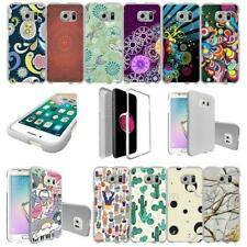 For Samsung Galaxy S6 Hard Snap On 2 Piece Slim Shell Case - Patterns
