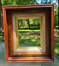 "High End~Antique Eastlake Victorian Wooden Picture Frame~ 9.5""x7.5"" Interior Dim"