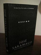1st/1st Printing SEEING Jose Saramago NOBEL PRIZE Modern Masterpiece