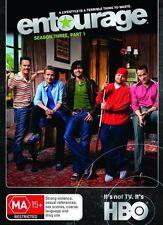 Entourage  HBO Season 3 Part 1 [DVD] [2007] Brand New Sealed Free Shipping R2