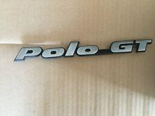 VW Polo GT  Emblem Schild Zeichen Schriftzug 867853687M