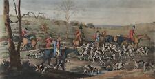 Henry Thomas ALKEN (1785 - 1851) The Death chasse à courre gravée par Sutherland