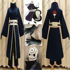 Original NARUTO Akatsuki Ninja Tobi Obito Madara Uchiha Obito Cosplay Costume