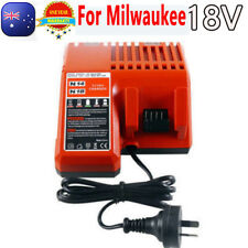 For Milwaukee Battery Charger M18 48-59-1812 48-11-1840 M18B4 18V Li-ion Battery